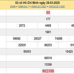 Soi cầu xổ số Hồ Chí Minh 30/3/2020, chốt số dự đoán hôm nay
