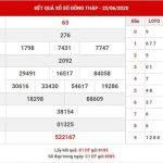 Soi cầu số đẹp XS Đồng Tháp thứ 2 ngày 29-6-2020