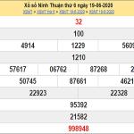 Soi cầu XSNT ngày 26/6/2020, soi cầu xổ số Ninh Thuận hôm nay