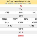 Soi cầu xổ số Thừa Thiên Huế ngày 3/8/2020 mới nhất hôm nay