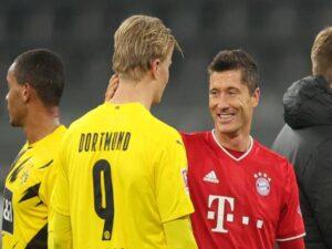 Bóng đá Đức hôm nay 26/2: Haaland ngưỡng mộ Lewandowski