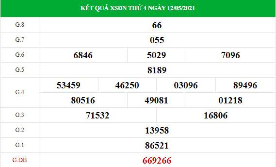 Soi cầu XS Đồng Nai chính xác thứ 4 ngày 19/05/2021
