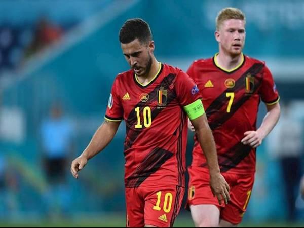 Tin Euro chiều 29/6: Bỉ nhận tin xấu về bộ đôi Hazard và De Bruyne