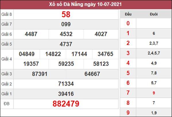 Soi cầu KQXS Đà Nẵng 14/7/2021 thứ 4 cùng cao thủ