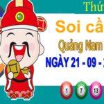 Soi cầu XSQNM ngày 21/9/2021 – Soi cầu KQ xổ số Quảng Nam thứ 3