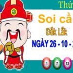 Soi cầu XSDLK ngày 26/10/2021 – Soi cầu đài xổ số Đắk Lắk thứ 3