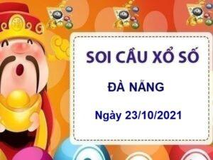 Soi cầu KQXSDNG ngày 23/10/2021 chốt lô VIP thứ 7 hôm nay