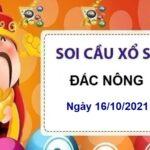 Soi cầu XSDNO ngày 16/10/2021 chốt bạch thủ lô thứ 7