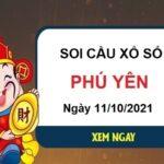 Soi cầu XSPY ngày 11/10/2021 chốt lô số đẹp đài Phú Yên